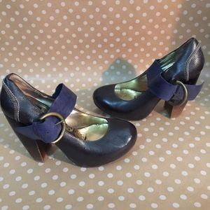 DV Dolce Vita Heels Size 9 Pin Up Mary Jane Buckle